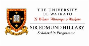 Sir Edmund Hillary Scholarship 2014, University of Waikato, New Zealand