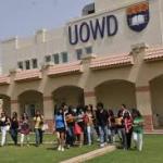 UOWD Undergraduate Academic Scholarships