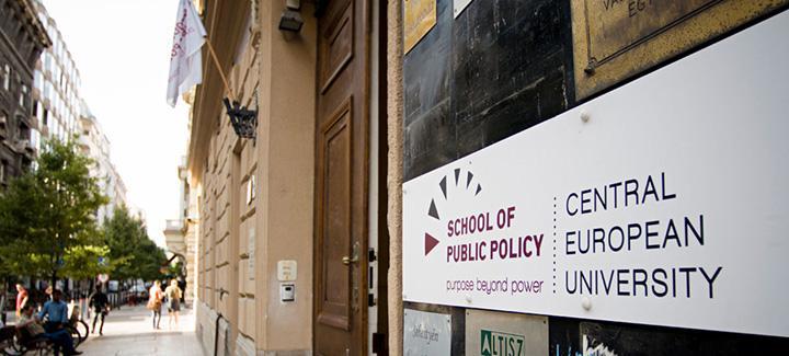 school of public policy CEU Hungary