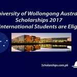 University of Wollongong Scholarships 2017 Announced. Apply Now