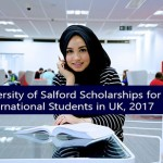 University of Salford Scholarships for International Students in UK, 2017