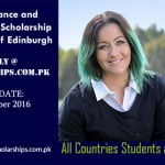MSc Scholarships for International Students at University of Edinburgh in UK, 2017