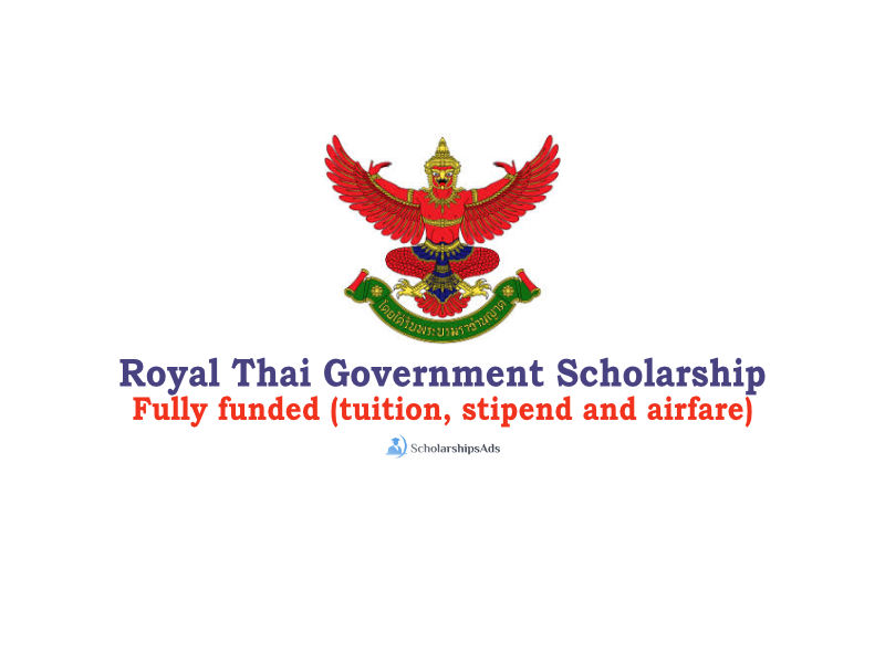 Royal Thai Government 2021 Scholarships For International Students